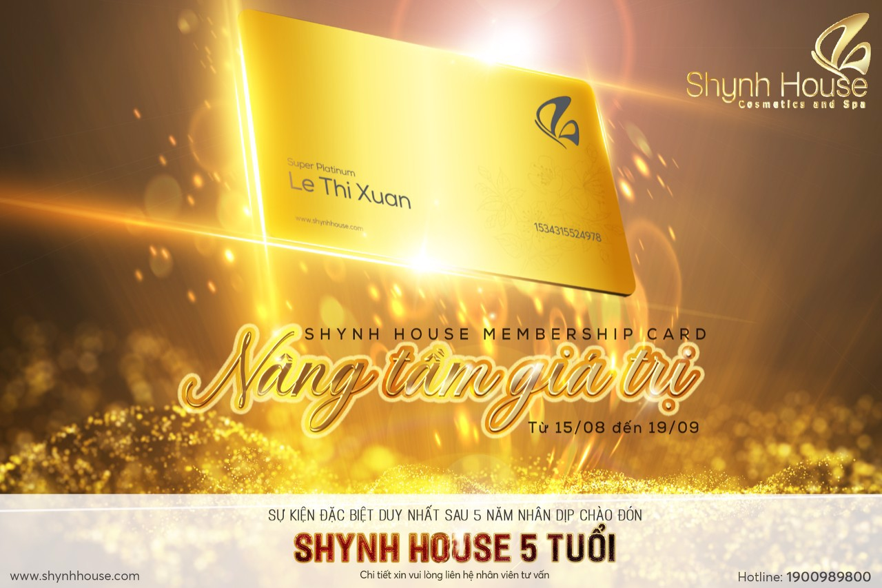 Shynh House Membership Card
